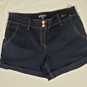 NWT New York & Company NY&C Bluejean Shorts 10